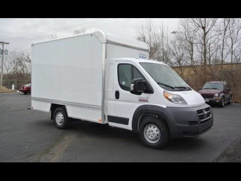 2017 Ram Promaster Box Truck Bay Bridge Manufacturing 27856t