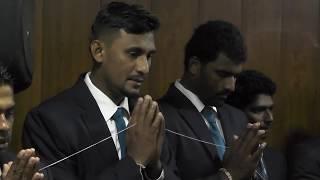 Sri Lanka ODI team touring Bangladesh- Departure
