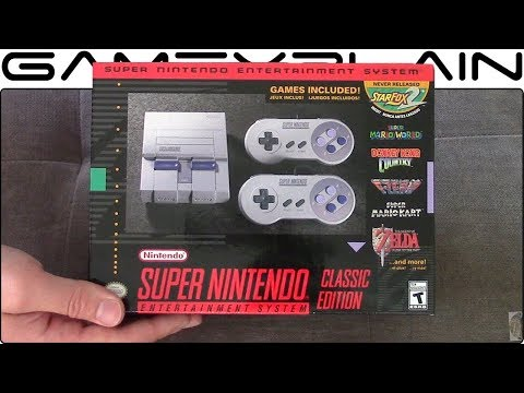 Super NES Classic Edition UNBOXING