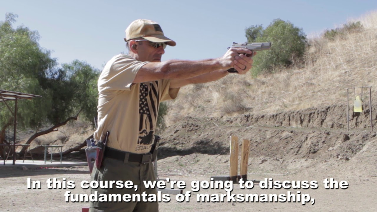 Beginner Handgun course LVL 1