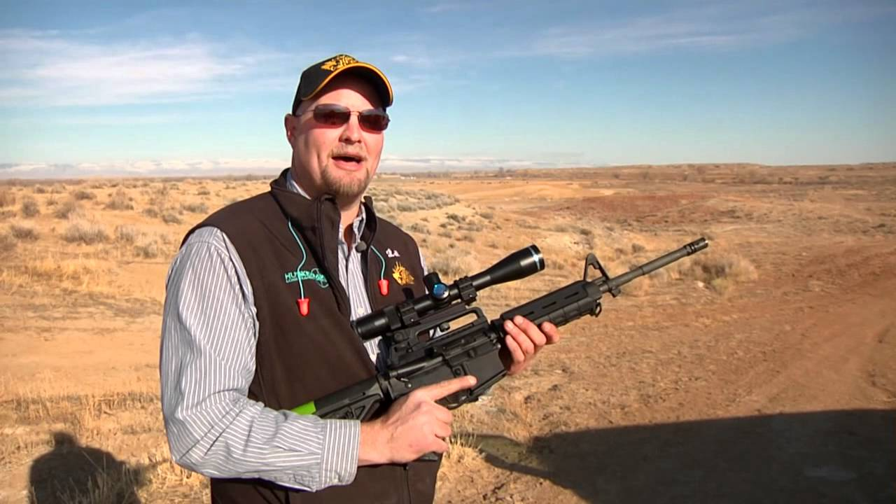 Product Review - Colt M4 Carbine with a Huskemaw Scope (The Best of
