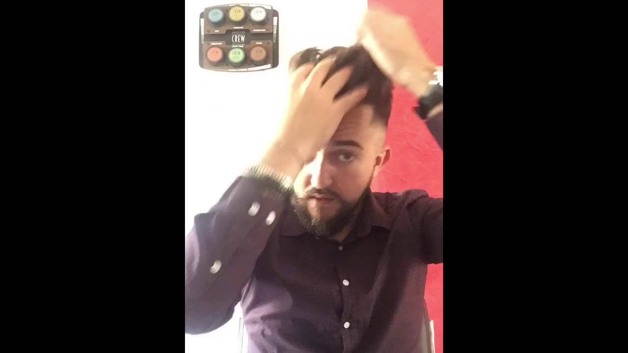 Cera per capelli uomo effetto bagnato