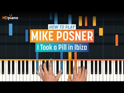 """How To Play """"I Took A Pill In Ibiza"""" By Mike Posner   HDpiano (Part 1) Piano Tutorial"""
