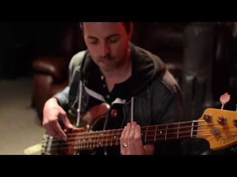 Sean Hurley deals some sweet grooves with the Noble preamp DI.