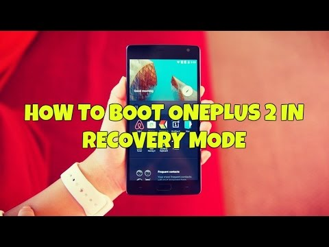 how to go to recovery mode