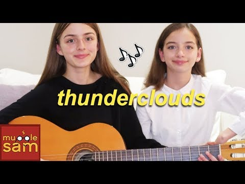 THUNDERCLOUDS -Sia, Diplo, Labrinth Cover | Sophia and Bella