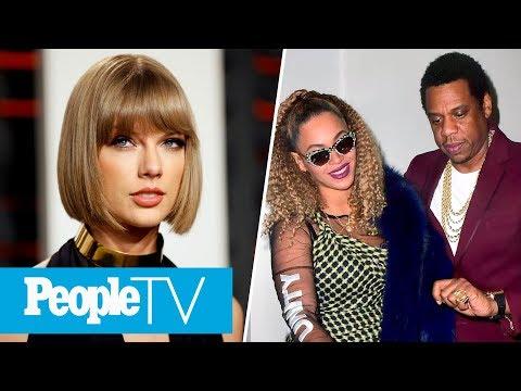 Taylor Swift Fans Are Mad At Kim Kardashian, Beyoncé & JAY-Z Celebrate His 48th Birthday   PeopleTV