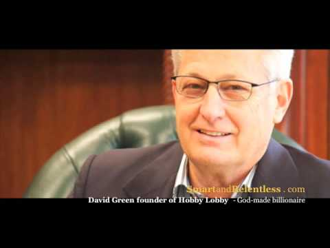 The David Green rags to riches story - From $600 to billions
