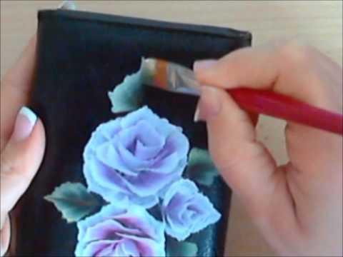 Comment peindre rose youtube for Peindre sur de la peinture