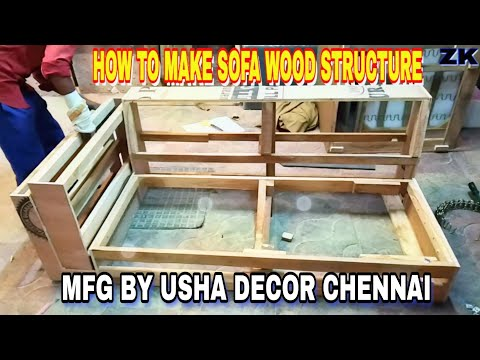 #wood #structure #frame DIY amazing HOW TO MAKE SOFA FRAME WOOD STRUCTURE llfurniture manufacturer||