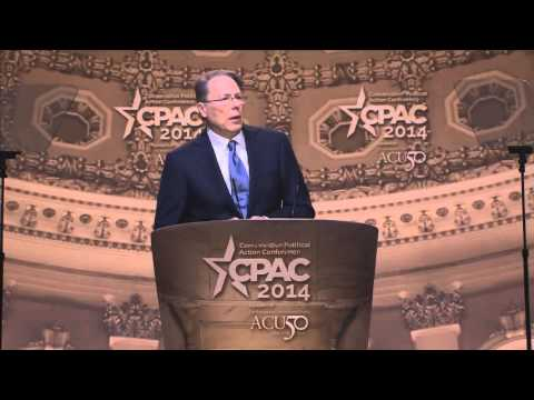 CPAC 2014 - Wayne LaPierre, National Rifle Association