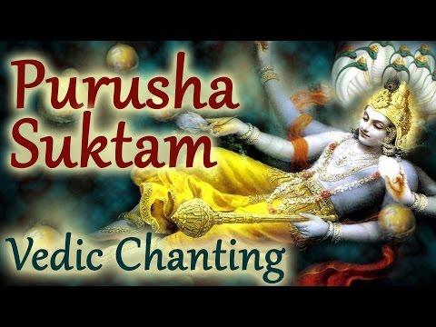 Vedic Chants  | Purusha Suktam by 21 Brahmins | Vedic Hymns