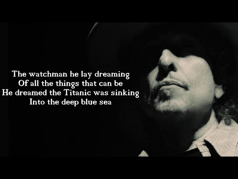 Bob Dylan - Tempest | Lyric video