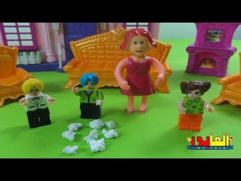 لعبة تامر وحلويات ماما للأطفال ألعاب العرايس والدمى للأولاد والبنات  baby doll toys
