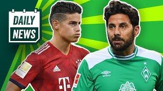 BVB raus! Bremen & HSV weiter! Bleibt Hazard bei BMG?Kein Kaufvertrag bei Pavard? Geht Marco Fabian?