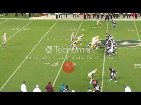 Green Bay Packers - Offense - Week 1 - First Half - Key Notes - Film Study