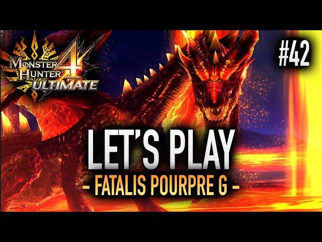 FATALIS POURPRE DU RANG G - #42 Let's Play MH4U HD