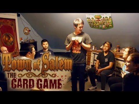 Town of Salem Card Game! - 7 Players 5 Rounds & 1 Moderator