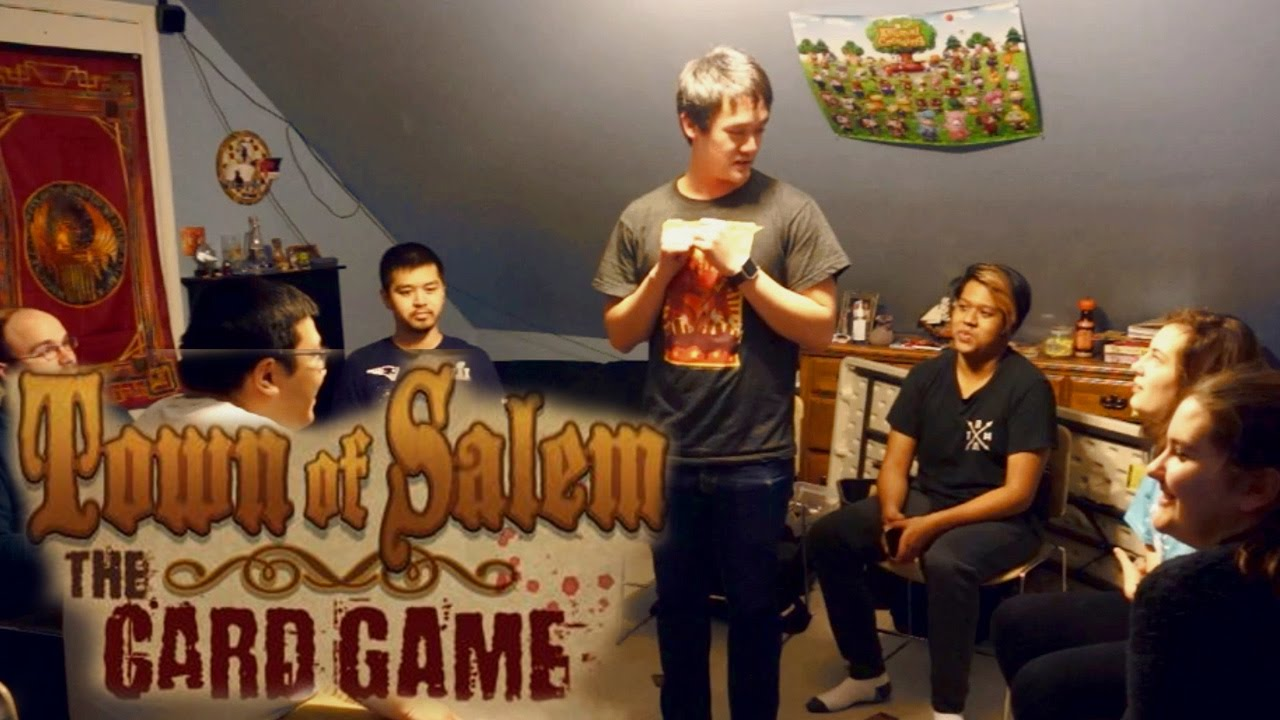 Town of Salem Card Game! - 7 Players 5 Rounds & 1