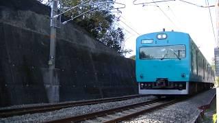 113系ワンマン列車(113系2000番台)・普通 きのくに線