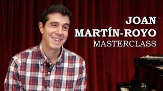 Masterclass amb Joan Martín-Royo - Cicle Liceu Cambra