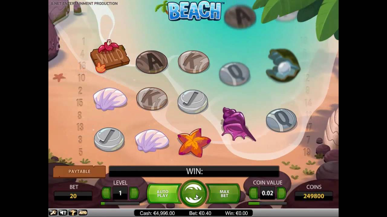 Mar 02, · Beach – General Information and Features.Life's a beach in this delightful 5-reel NetEnt slot, where the sea washes up more than just the occasional driftwood! Get swept away by wilds, scatters with generous free spins, and an exciting Octopus Wild in our online demo, available to play for free!4/5.