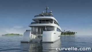 Curvelle quaranta luxury catamaran