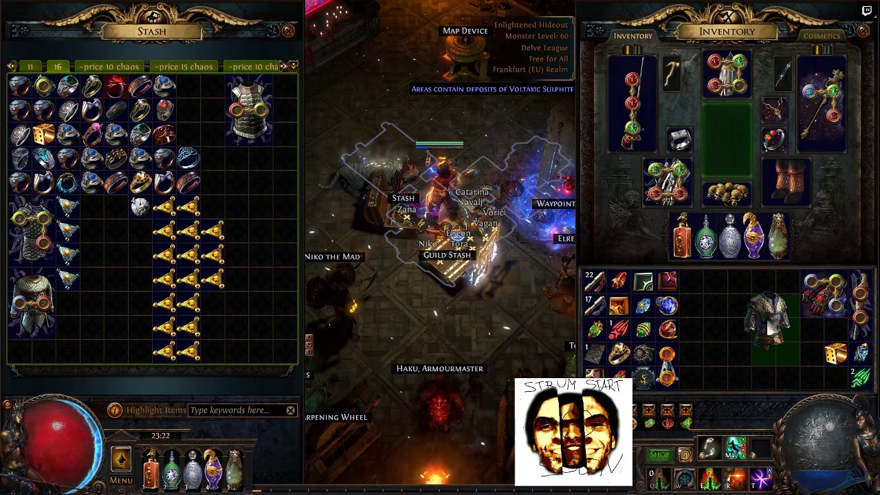 30 Pristine Fossils vs Ilvl86 Elder Chest - Can we get two life rolls +  crit?