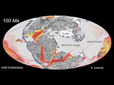 Ancient Oceans & Continents: Plate Tectonics 1.5 by - Today, by CR Scotese