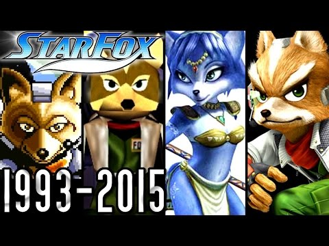 Star Fox ALL INTROS 1993-2015 (Wii U, GCN, N64, SNES)