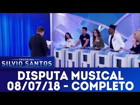 Disputa Musical - Completo | Programa Silvio Santos (08/07/18)