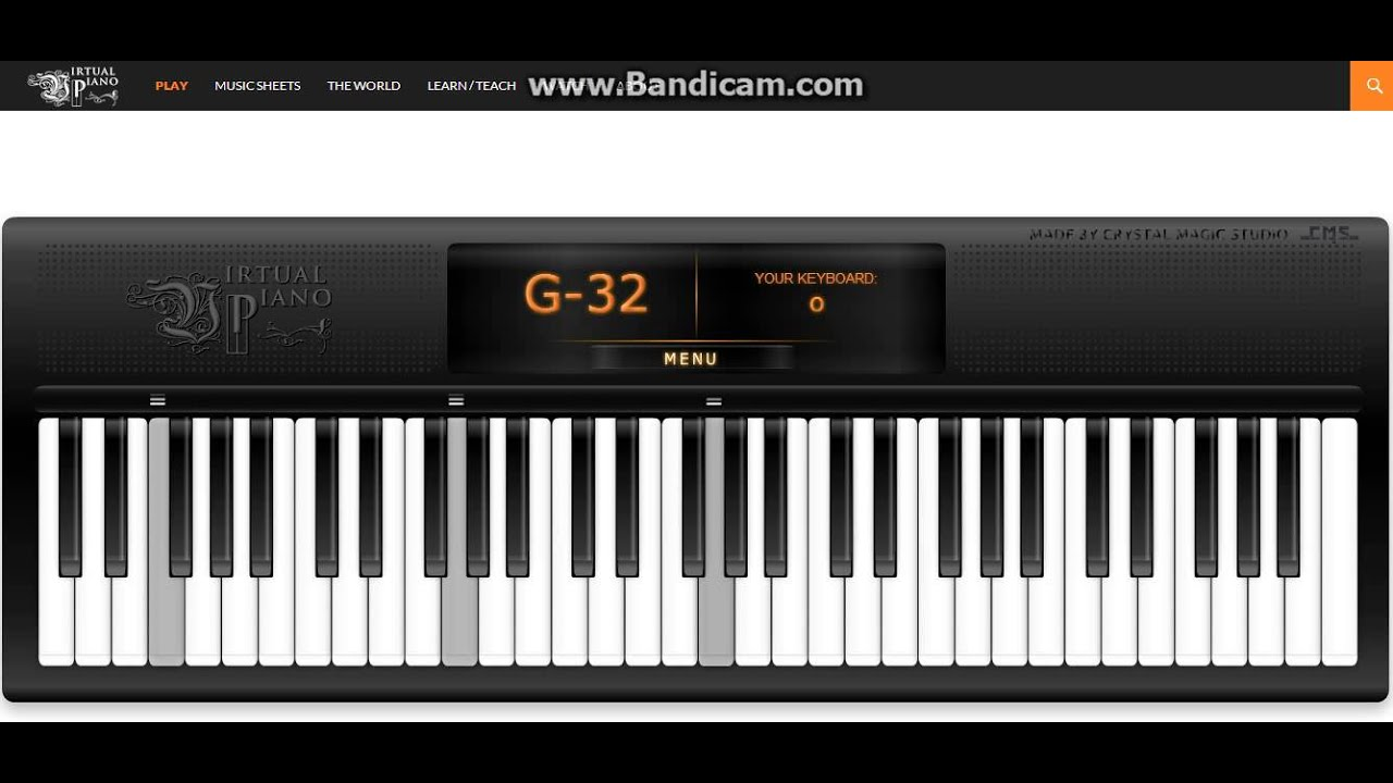My Heart Will Go On Celine Dion Titanic Virtual Piano