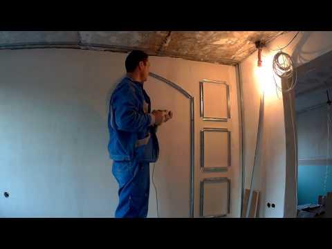 Полный монтаж ниши из гипсокартона на стене (часть 1) - Секреты монтажа!