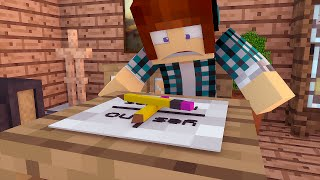 Minecraft TERROR : Desafio Charlie Charlie (Muito Assustador)