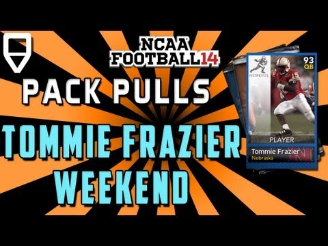 NCAA Heisman Tommy Frazier: All American Pack Pulling!