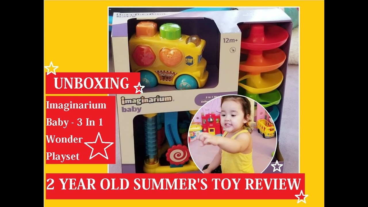Unboxing Imaginarium Baby 3 In 1 Wonder Playset | Unboxing Toys Channel | Toy Reviews | Toys R Us