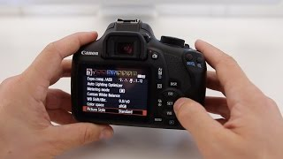 Canon T6 (1300D) Tutorial - Beginner's User Guide to the Menus & Buttons