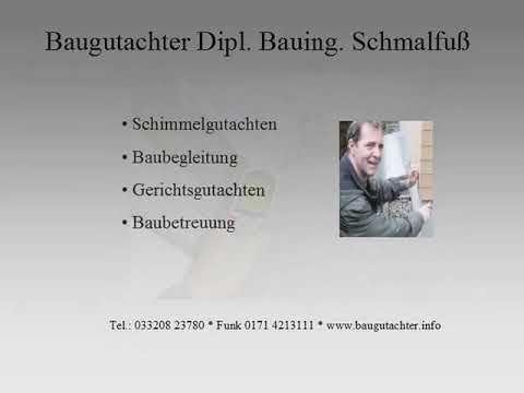 Baugutachter Berlin, München; Augsburg 01729352727 Ulm