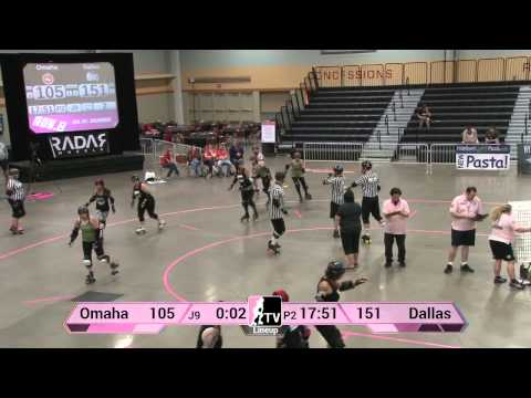 Dallas Derby Devils v Omaha Rollergirls: 2013 WFTDA D2 Playoffs in Des Moines