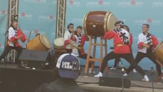 Happy Japan Day NYC 2017 - Japanese taiko drumming, by Soh Daiko