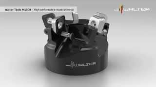 Walter Tools Milling M4000: Slot Drilling, Chamfer milling, High-Speed Milling Cutter,Shoulder mill