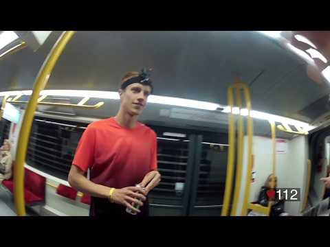 Race The Tube - Warsaw M2, Poland