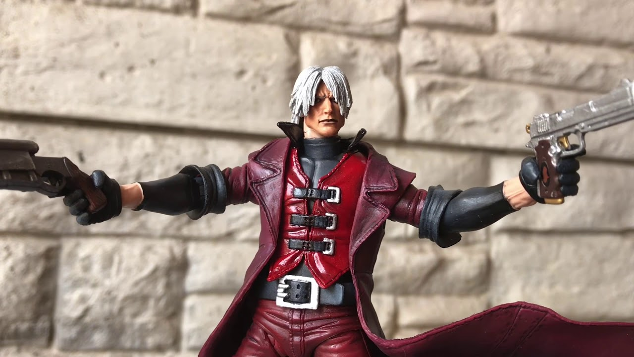 Dante Neca Knock Off Devil May Cry revisión unboxing exclusivo #review #toys #collectible