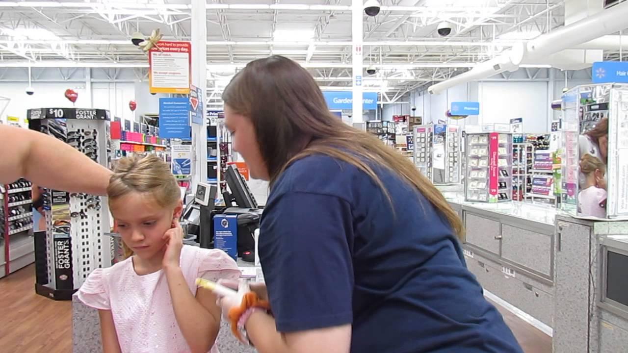 Walmart Ear Piercing Youtube