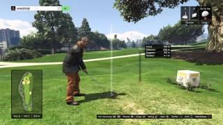 GTA 5 World Record -15 Online Golf
