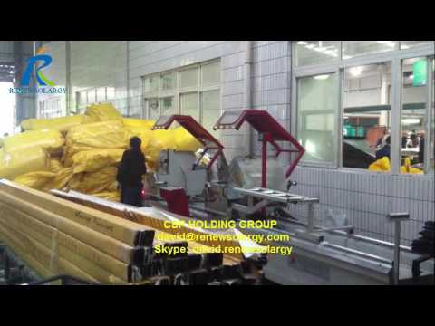 Flat plate collector digital display saw for Turkey
