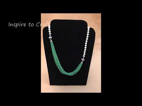 DIY Designer Seed Bead Necklace ( Latest Fashion)