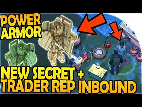 NEW SECRET + POWER ARMOR + TRADER REPUTATION INBOUND! - Last Day On Earth Survival 1.7.7 Update