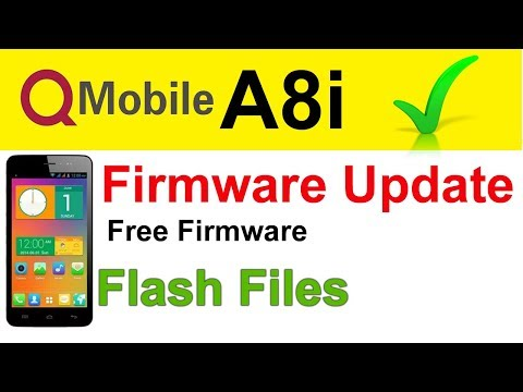 qmobile a8i flash file