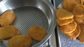 Оладьи из тыквы. Рецепт. Полезные оладьи из сладкой тыквы.